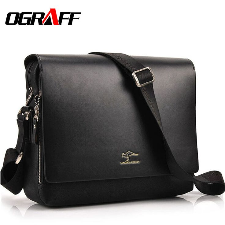 OGRAFF Men messenger bags 2017 designer leather briefcases men famous brand high quality shoulder bags for men business bag #clothing,#shoes,#jewelry,#women,#men,#hats,#watches,#belts,#fashion,#style