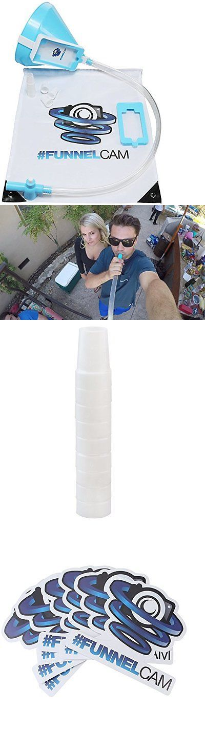 Funnels 178055: Beer Bong With Premium Valve 2.5Ft Tube Detachable Phone Mount For Party Selfies -> BUY IT NOW ONLY: $34.84 on eBay!