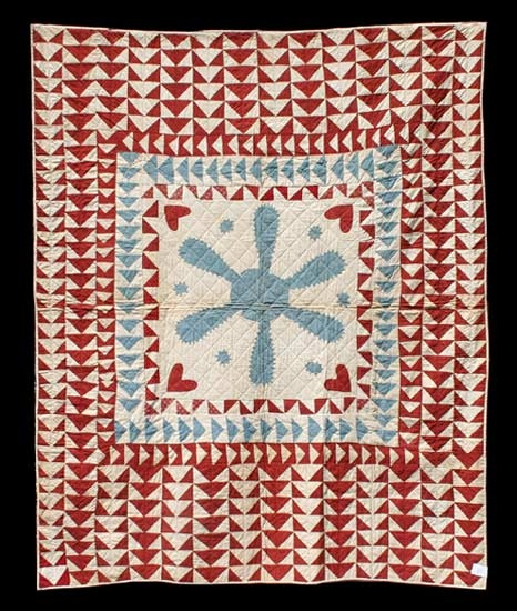 Quilt History Reports: What is an Ulster-inspired Quilt