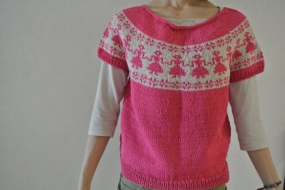落ち着いたピンクとベージュの素敵なセーターです。一枚で着ても重ね着でも良いです。ボレロより軽くテロンとした程よい密着感があります。モデルは162センチです。身... ハンドメイド、手作り、手仕事品の通販・販売・購入ならCreema。