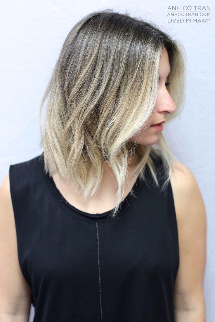 EDGY // LIVED IN HAIR  Cut/Style by Anh Co Tran • IG: @Anh Co Tran • Appointment inquiries please call Ramirez|Tran Salon in Beverly Hills at 310.724.8167. #dreamhair #winterhair #fantastichair #amazinghair #anhcotran #ramireztransalon #waves #besthair2015 #holidayhair #livedinhair #coolhaircuts #coolesthair #trendinghair #model #movement #favoritehair #haircuts2015 #besthair #ramireztran #anhcotran #haircut #collarlength