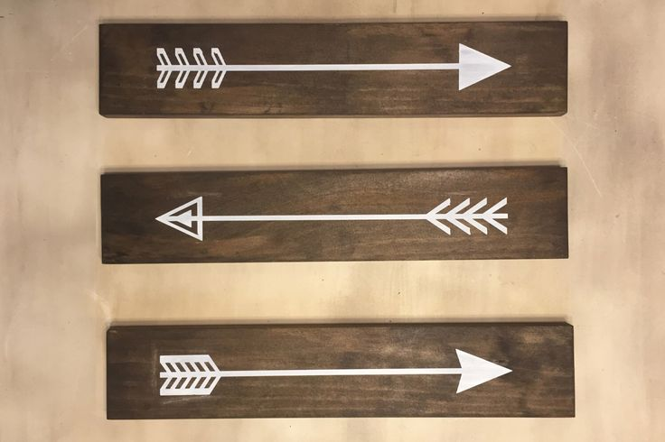 Set of 3 Rustic Wood Arrows Wall Decor. Wood Arrows Sign. Rustic Wood Arrows Set. Wood Arros by ModernRusticBoutique on Etsy https://www.etsy.com/listing/257513404/set-of-3-rustic-wood-arrows-wall-decor
