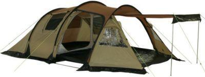 10T Camping-Zelt Felton 4 Tunnelzelt mit Schlafkabine für 4 Personen Outdoor Trekkingzelt mit Wohnraum, Dauerbelüftung, Sonnendach Aufstellstangen, wasserdicht mit 5000mm Wassersäule Jetzt bestellen unter: https://moebel.ladendirekt.de/kinderzimmer/betten/baldachine/?uid=30bf9261-7a27-5516-8462-c36b29c3872e&utm_source=pinterest&utm_medium=pin&utm_campaign=boards #ern #baldachine #kinderzimmer #betten Bild Quelle: gartenxxl.de