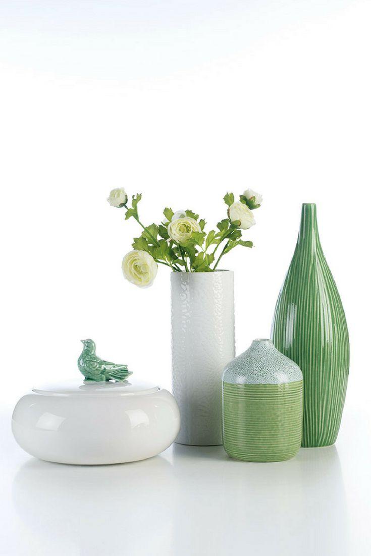 Ceramics in green by @arfaiceramics   #interiors #ceramics #interiordesign #homeaccessoriess