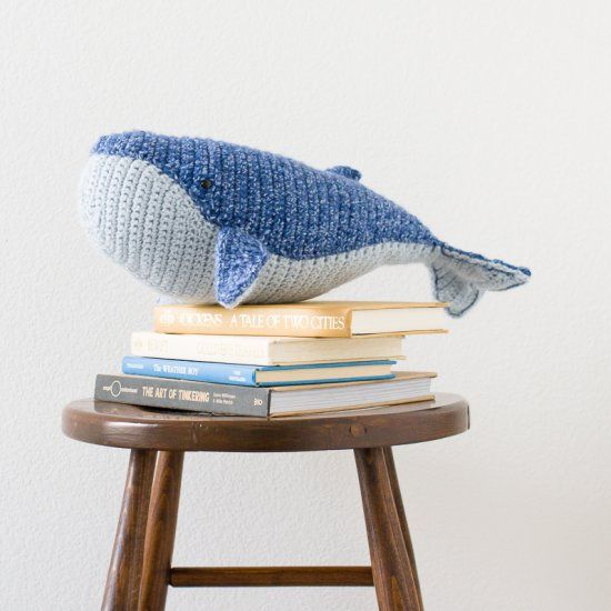 ... Crochet Whale on Pinterest | Crocheting, Whale Pattern and Crochet