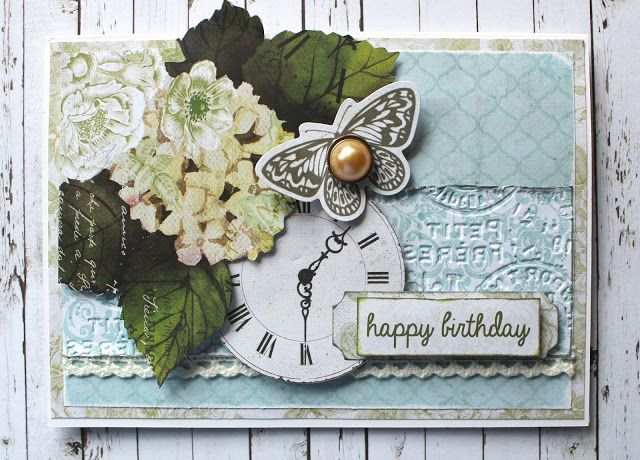 Birthday Card - Kaisercraft Provincial