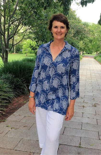 Liesl + Co Gallery tunic in rayon