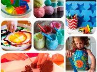 La experimentación es fundamental en el desarrollo de la creatividad de los niños. Descubrir nuevas texturas, formas y colores los ayuda a ser creativos, y nosotros los papás tenemos la obligación