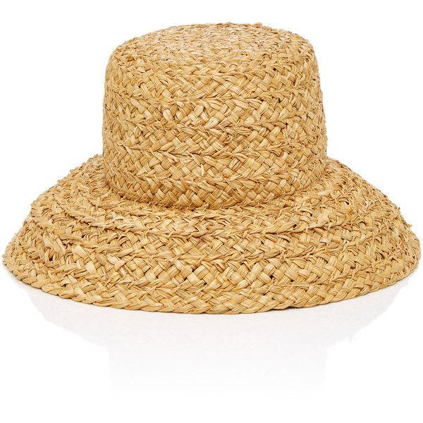 Sydney Woven Straw Bucket Hat Moda Operandi 1 966 935 Idr Liked On Polyvore Featuring Accessories Hats Straw Fi Straw Bucket Hat Hats Wide Brimmed Hats