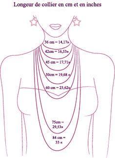 comment choisir la bonne taille de vos bijoux, collier, bague et bracelet                                                                                                                                                      Plus