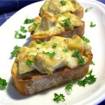 Artichoke Bruschetta #recipe #bruschetta