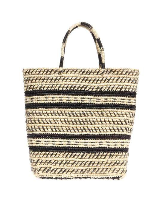 Sensi Studio | Trinado woven straw tote #sensistudio #tote #bag