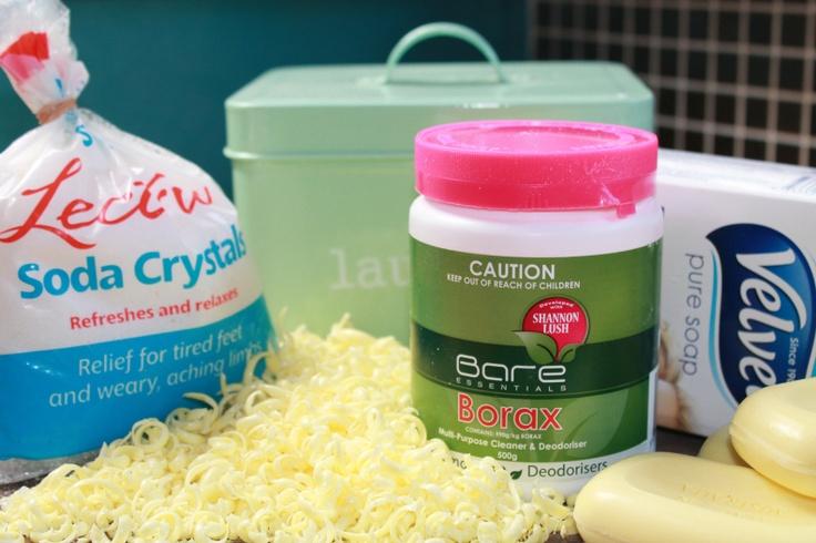 Homemade Washing Powder - Cheap, Easy and Environmentally Friendly