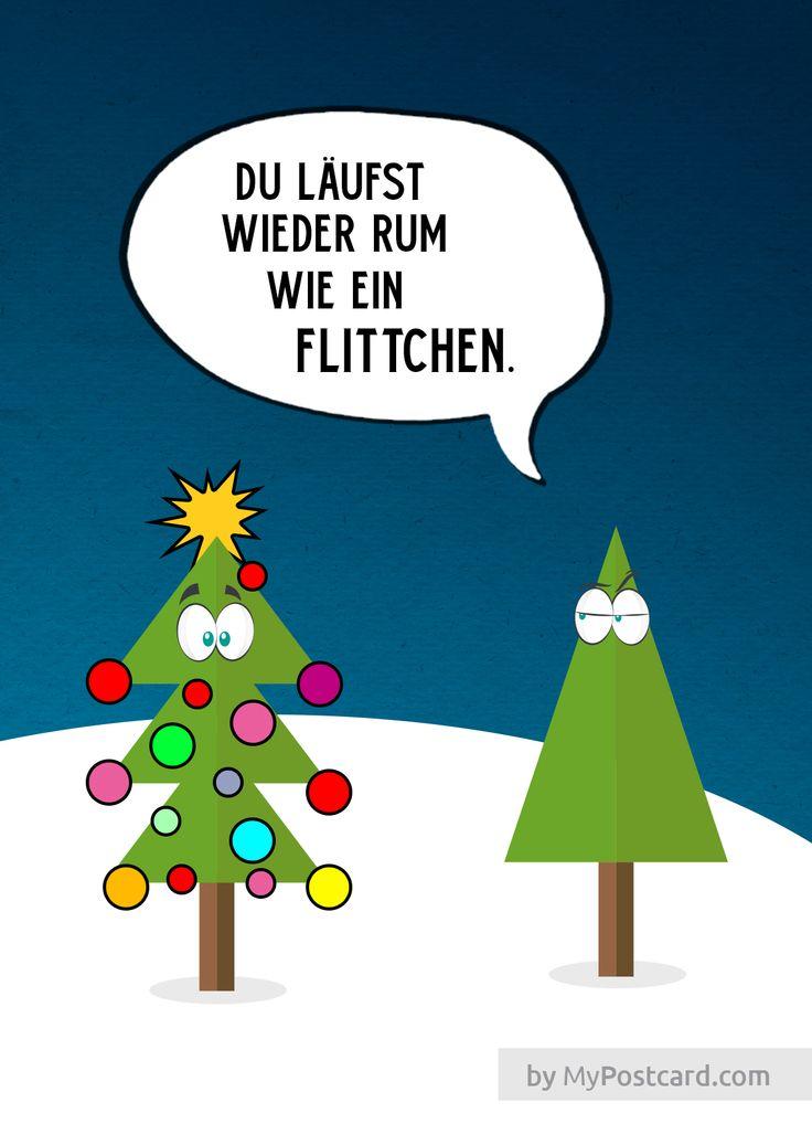 lustige Grußkarte Weihnachten Spruch #graphicdesign # ...