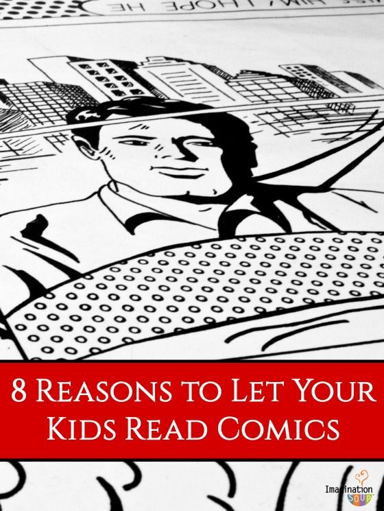 Surprising benefits to reading comics and graphic novels