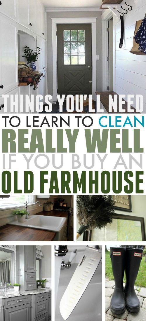 Die Reinigung Ihres Bauernhauses könnte sich in gewisser Weise als ein wenig anders ... wenig weise reinigung konnte ihres gewisser bauernhauses