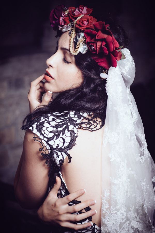 Fashion Shoot: Saint Bartholomew Church UK by Ingrid Irsigler, via Behance