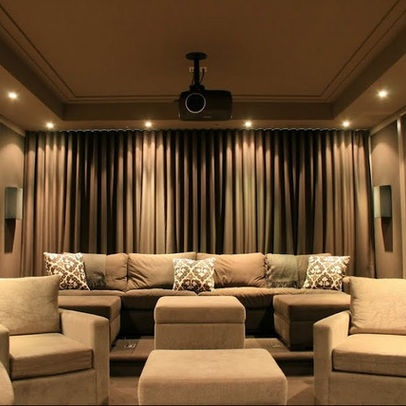 Media Room Design Media Rooms Pinterest