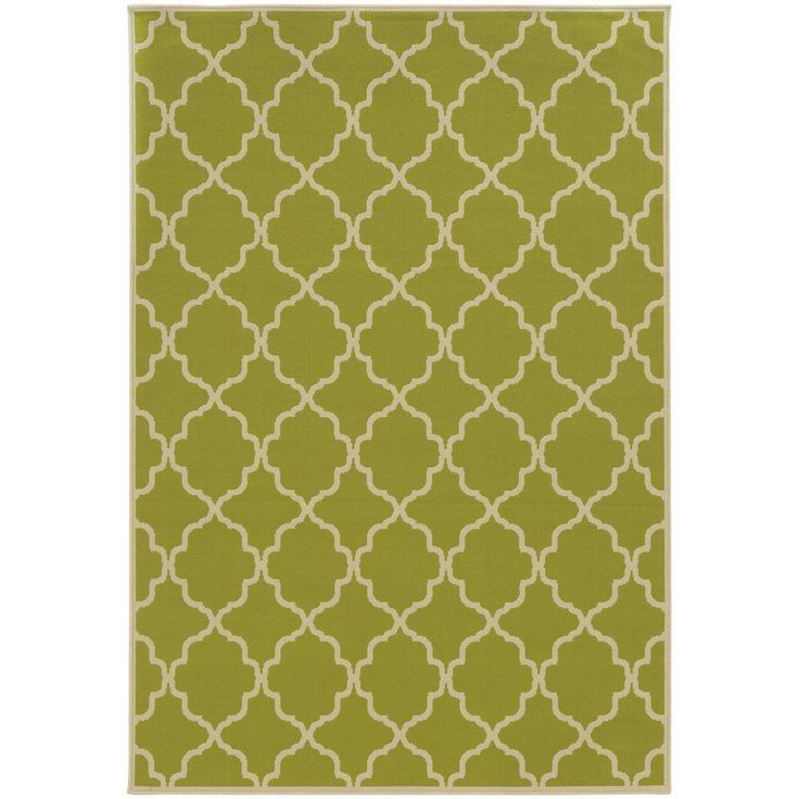 Newport Lime (Green) 7 ft. 10 in. x 10 ft. 10 in. Area Rug