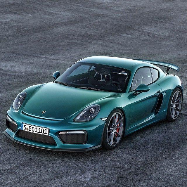 Porsche Cayman GT4 Mais