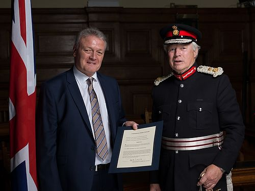University lecturer appointed Deputy Lieutenant of Northamptonshire
