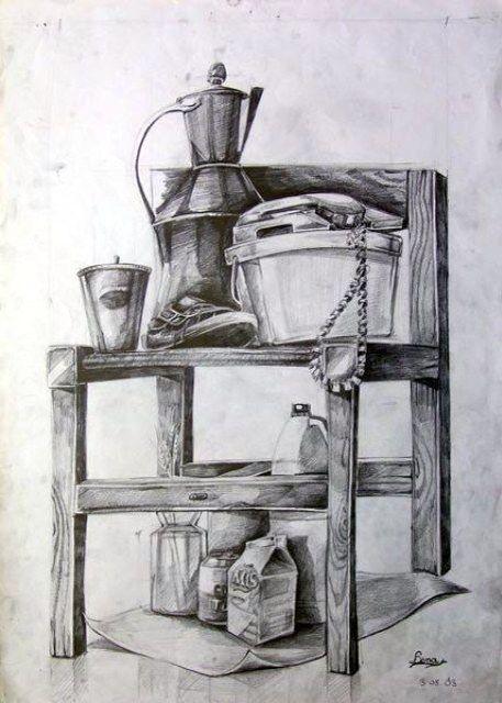 Güzel sanatlara hazırlık obje çizimi