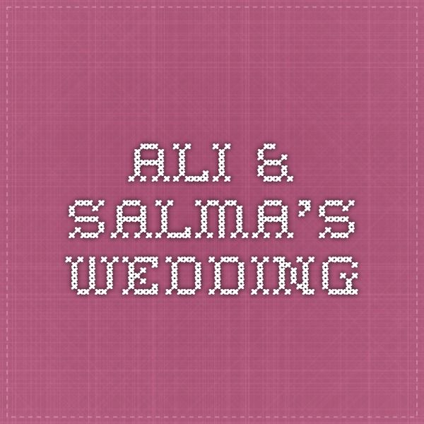 A simple website I designed and developed in 3 days for Ali Ali and his soon to be wife Salma.