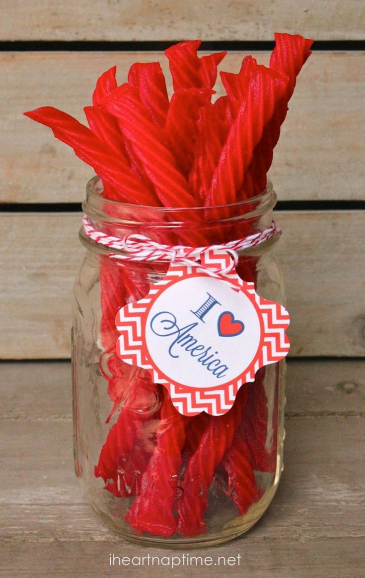 Patriotic party circles | 4th of July printables