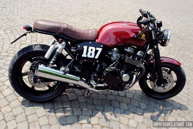 La Honda CB 750 Seven Fifty de Tony… | Un pneu dans la tombe