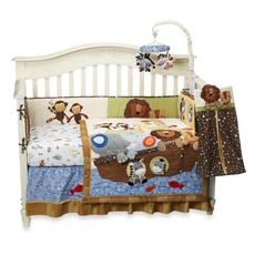 Lambs & Ivy® S.S. Noah 4-Piece Crib Bedding Set and Accessories