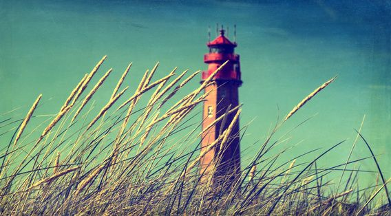 Neu in meiner Galerie bei OhMyPrints: Leuchtturm am Strand