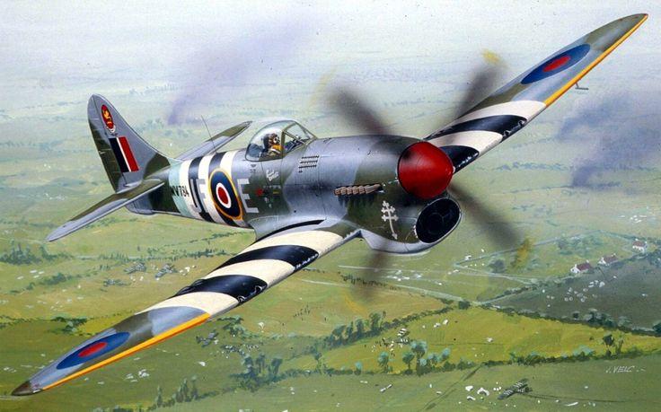 Hawker Tempest MkV Clostermann - Jaroslav Velc - box art Revell