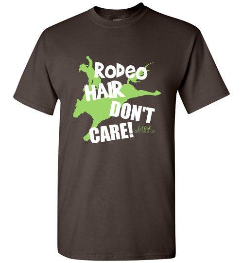 Rodeo Hair Short Sleeve T-Shirt