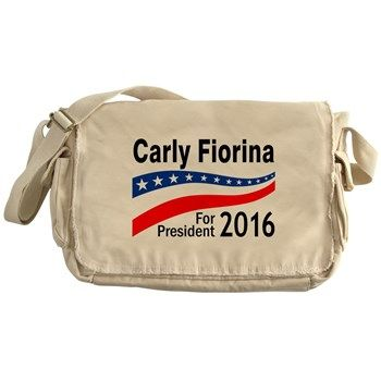 Carly Fiorina for President 2016 Messenger Bag
