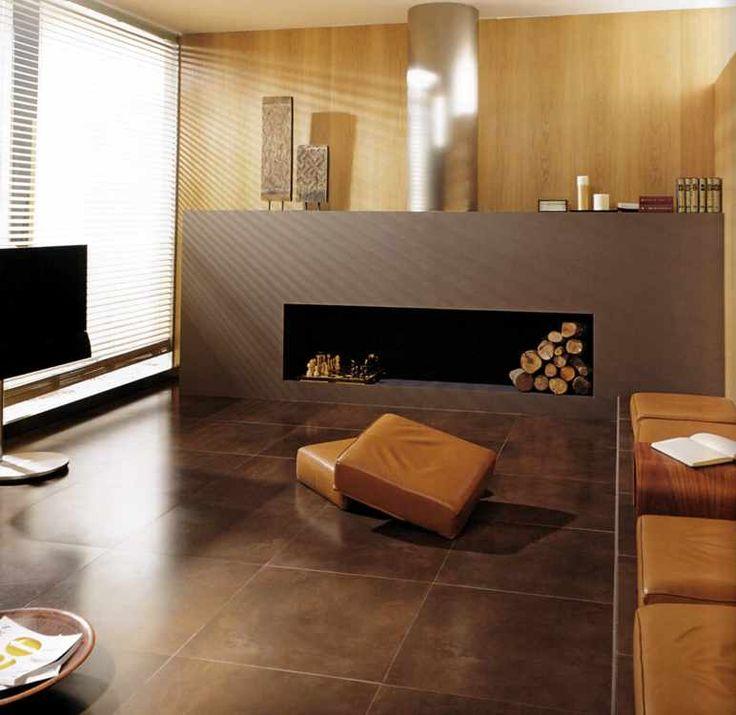 fliesen grossformat fliesen gro formatig rostbraun b den pinterest gro e fliesen fliesen. Black Bedroom Furniture Sets. Home Design Ideas