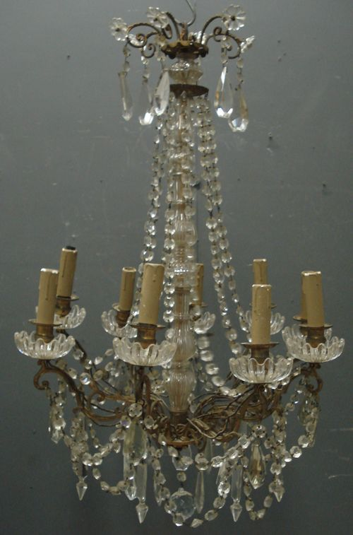 Antique French Chandelier from www,jasperjacks.com