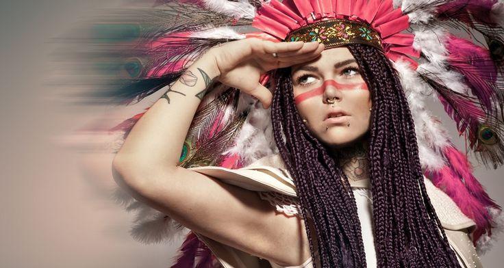 Rap-Queen Mrs. Nina Chartier - Trittschall
