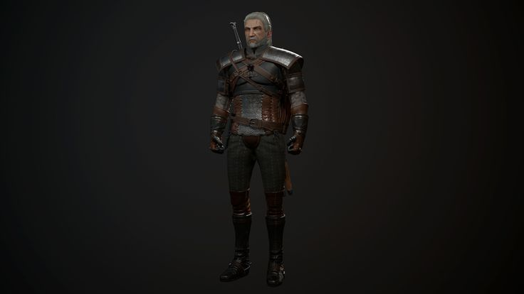 위쳐3 #3d #substancepainter #3dmax #marmoset3 #witcher3 #geralt