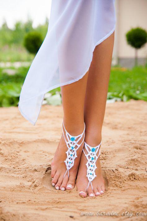 barfuss sandalen hochzeit bridal fu zubeh r strand. Black Bedroom Furniture Sets. Home Design Ideas