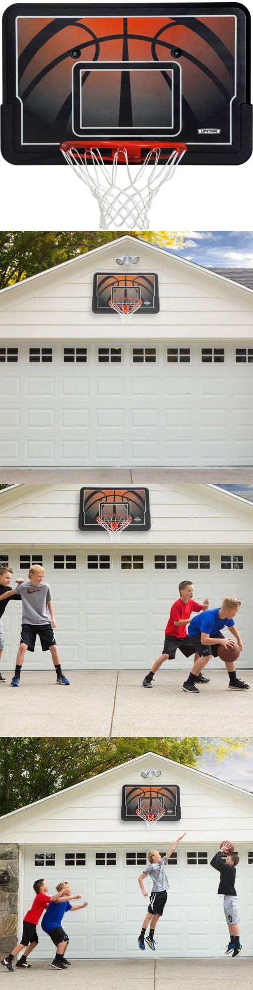 Backboard Systems 21196: Lifetime 44 Inch Outdoor Basketball Hoop Impact Backboard Steel Rim Combo Heavy -> BUY IT NOW ONLY: $60.09 on eBay!