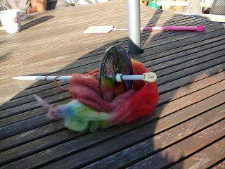DE SWAP BLOG: Zelf gemaakte spintol.....