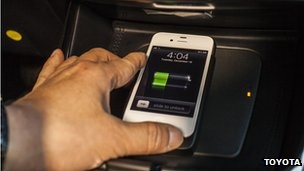 Wireless phone charging in cars planned by Toyota