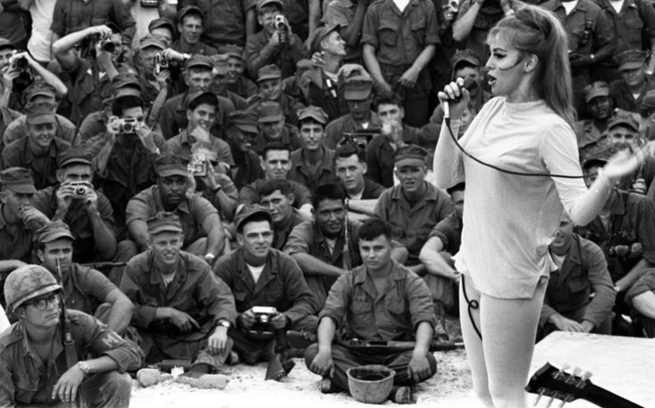 Ann-Margret Vietnam - USO Show | The Vietnam War ...