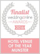 Thank you so much for your votes! We are a finalist in the weddingsonline Awards 2016 ‪#‎weddingsonline‬ ‪#‎finalist