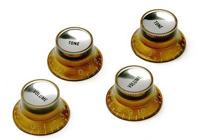 Montreux #1037 Reflector knob set Gold