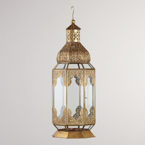 Extra Large Latika Lantern-- this would be a beautiful bathroom lantern. I love the turkish bathrooms