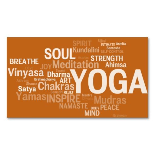 298 best yoga instructor business cards images on pinterest yoga instructor business card yoga words colourmoves