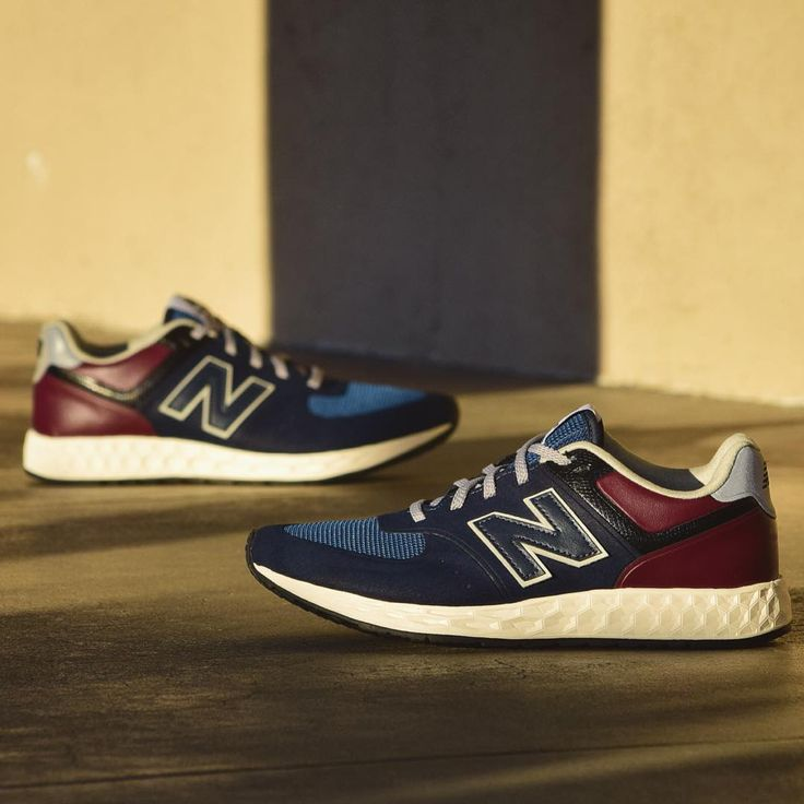 Womens New Balance  Athletic Shoe Navy Red Tan