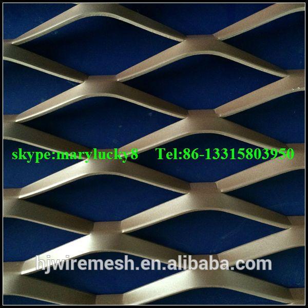 aluminium expand mesh wall cladding