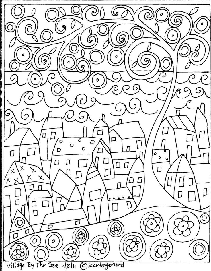 Karla Gerard Coloring Pages